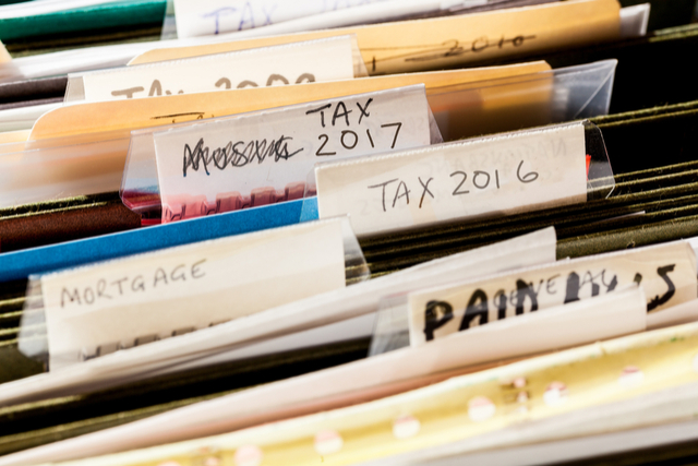 Prior Year Tax Records | Retention Period