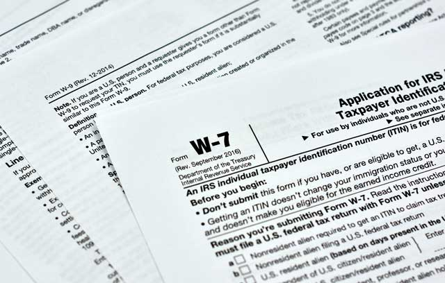 IRS Taxpayer Identification Number