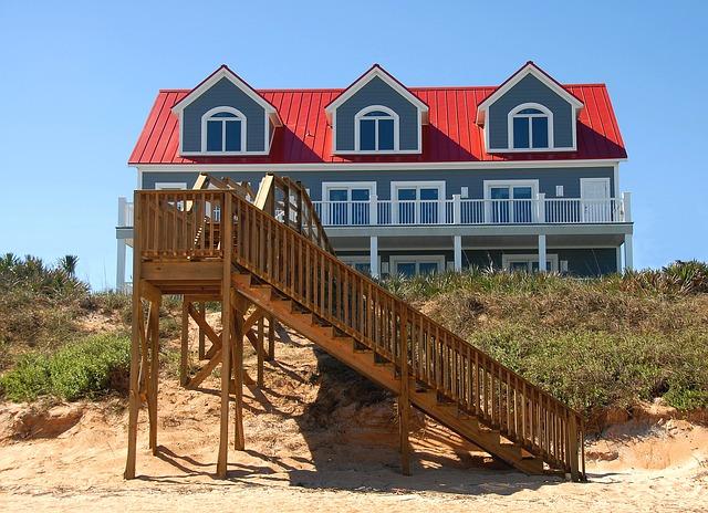 beach front rentals